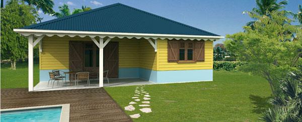 Constructeur de maisons individuelles en guadeloupe depuis 15 ans maisons caribois - Maison bois prefabriquee prix ...